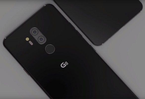 LG G8 ThinQ Diseño Conceptual No Oficial