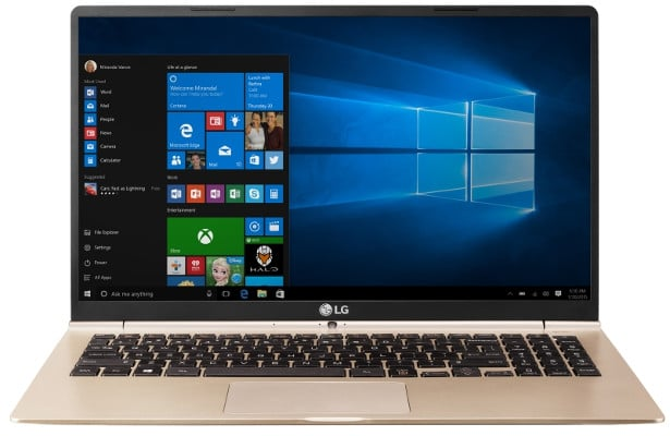 LG Gram i7 7500U portátil