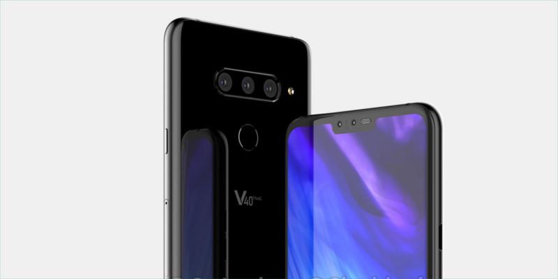 LG V40 especificaciones filtradas
