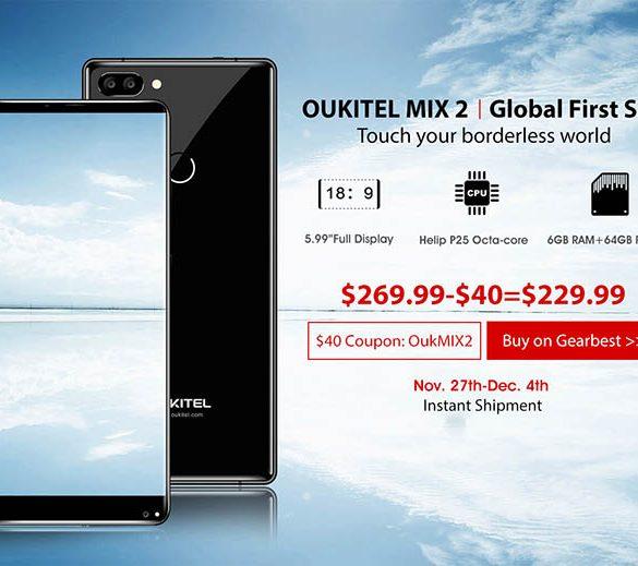 Lanzamiento oficial Oukitel Mix 2