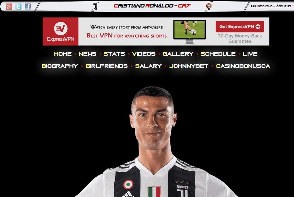 Las Mejores Paginas para ver Fútbol Online Gratis Ronaldo7
