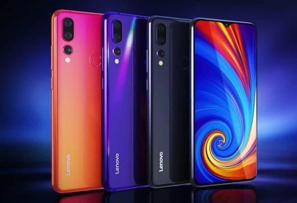 Lenovo Z5s colores