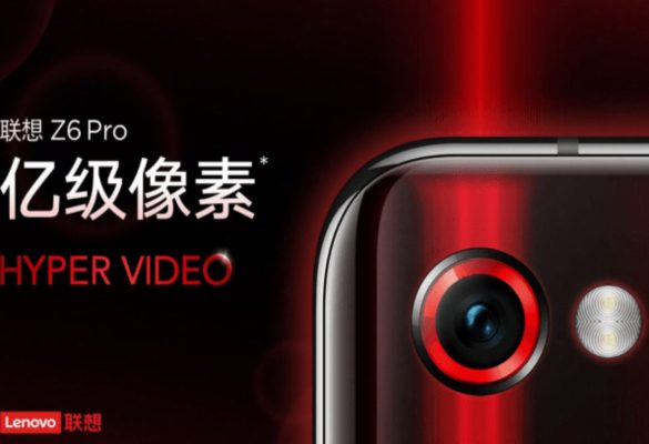 Lenovo Z6 Pro móvil con 100 MP de cámara