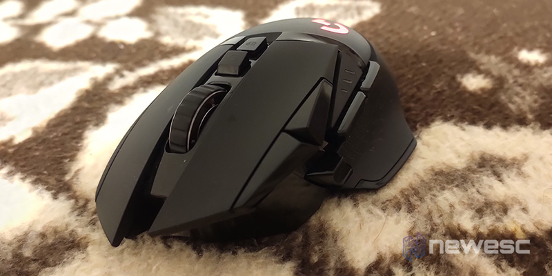 Logitech G502 lateralfrontal