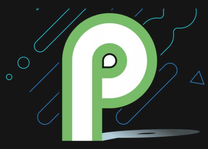 Logo Android P oficial