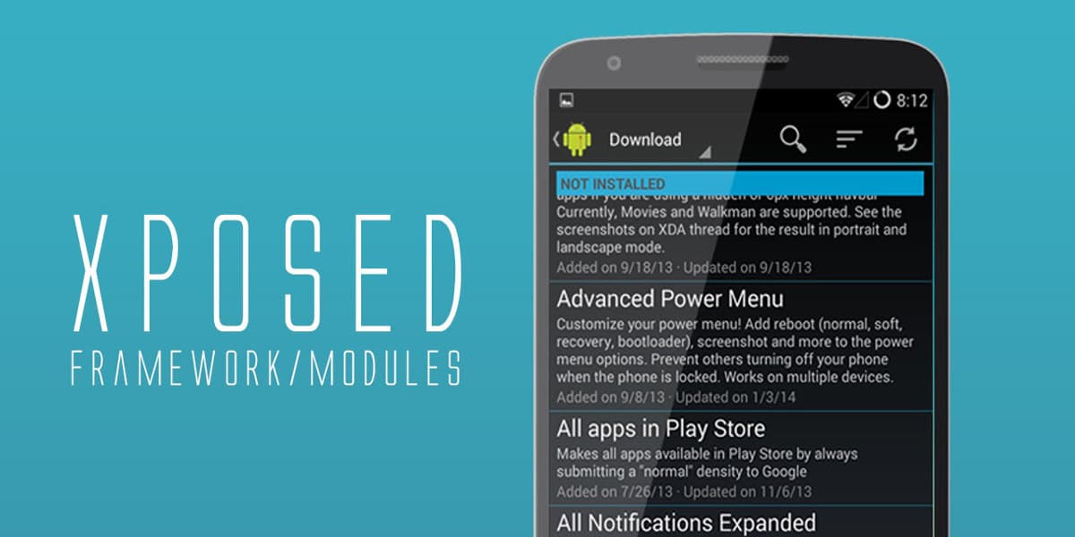 Los 31 Mejores Módulos Xposed Framework Root Android