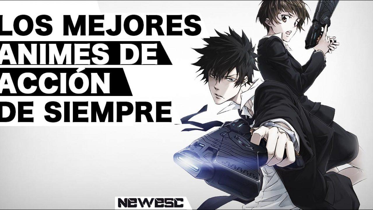Los Mejores Animes de Acción de siempre   NewEsc