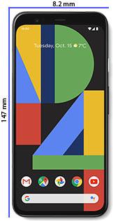Móvil compacto Pixel 4