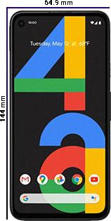 Móviles Pequeños Pixel 4A
