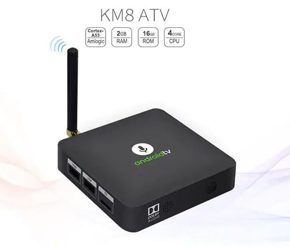 MECOOL KM8 TV Box Android