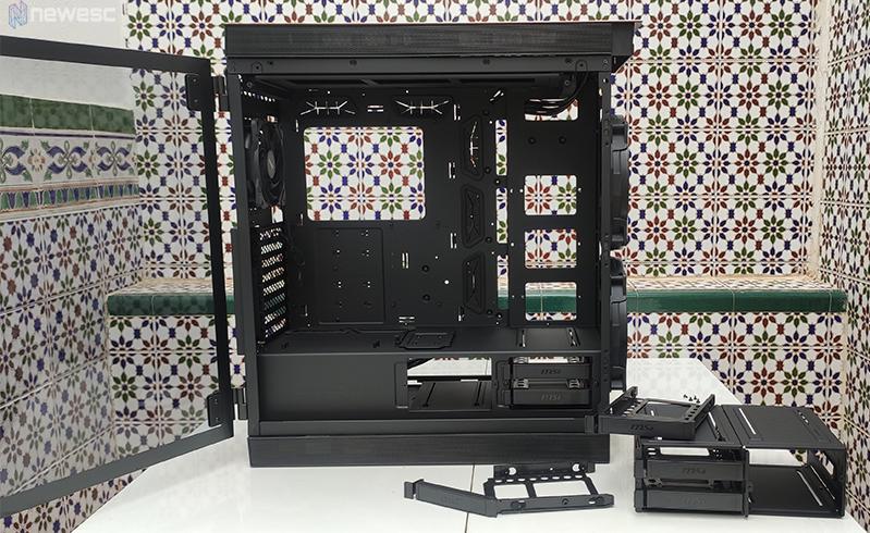 MPGSekira500G Vista interior