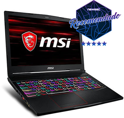 MSI-GE63-Raider-8RE-021XES Portátiles-Gamer