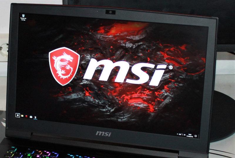 MSI GT75VR 7RF monitor