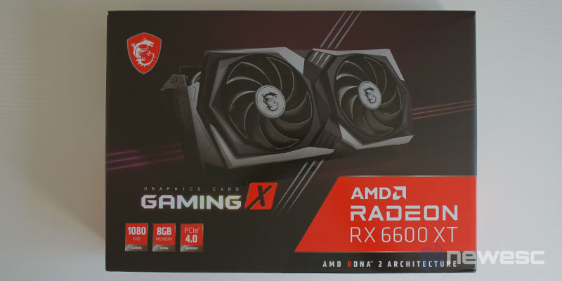 MSI Radeon RX 6600 XT Gaming X 1
