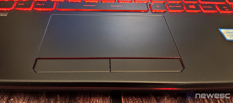 MSI GL63 8SD touchpad
