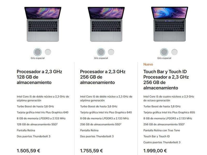 MacBook Pro 13 pulgada precios