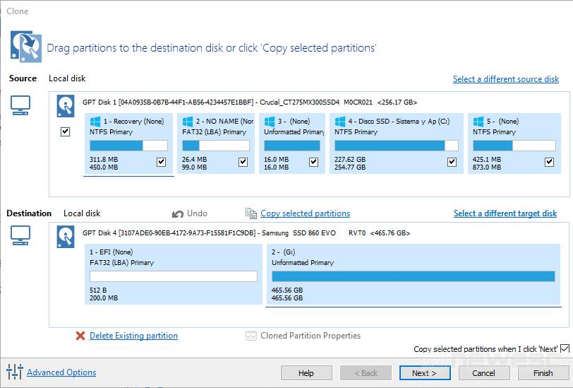 Macrium Reflect - Clonar disco duro en Windows 10 002
