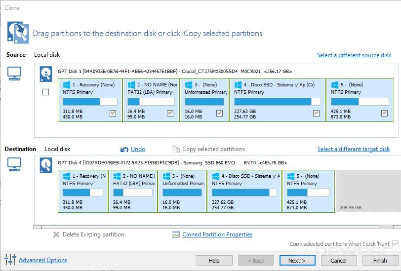 Macrium Reflect - Clonar disco duro en Windows 10 004