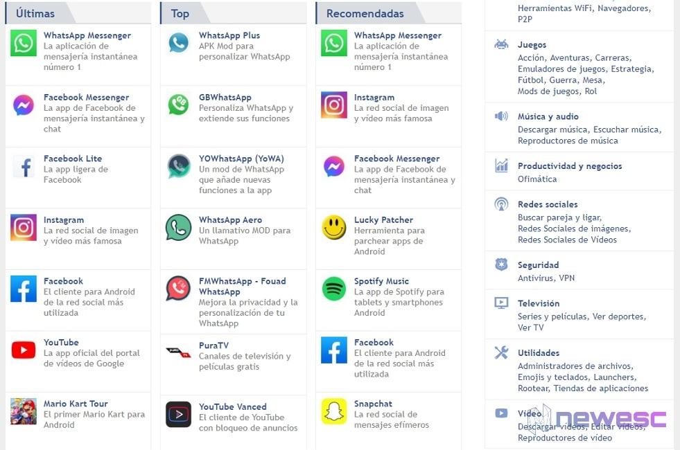 Malavida en Android