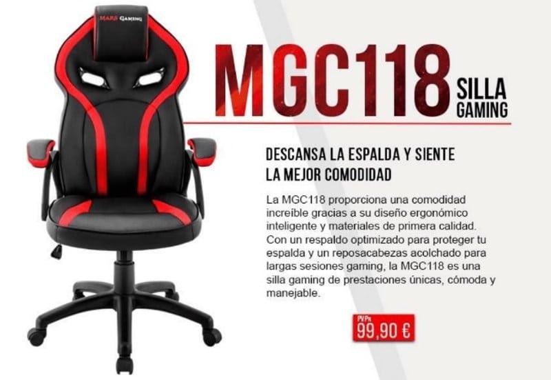 Mars gaming mgc118