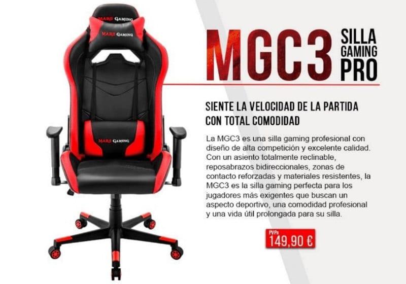 Mars gaming mgc3