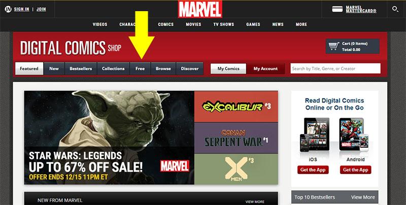 Marvel Leer Cómics gratis