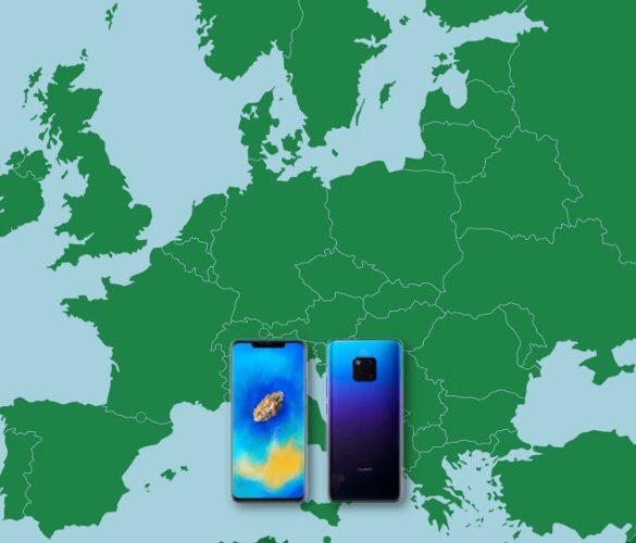 Mate 20 Pro en Europa