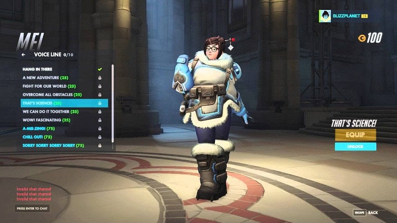 Mei Overwatch Voicelines