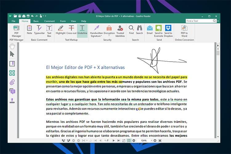Mejor Editor PDF Gaaiho