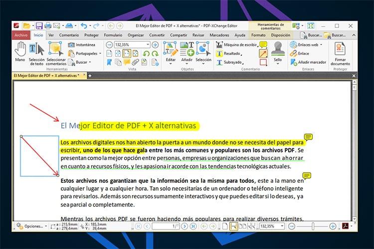 Mejor Editor PDF PDF XChange Editor