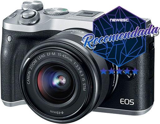 Mejor-cámara-compacta-Canon-EOS-M6