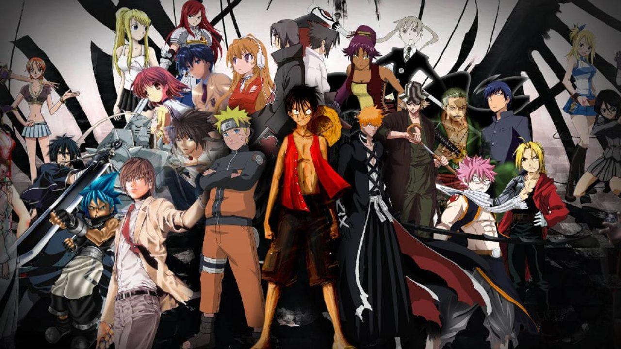Los 20 Mejores Anime de Aventura de siempre =D