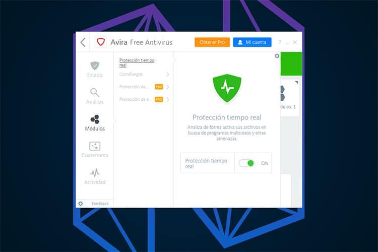 Mejores Antivirus de paga Avira