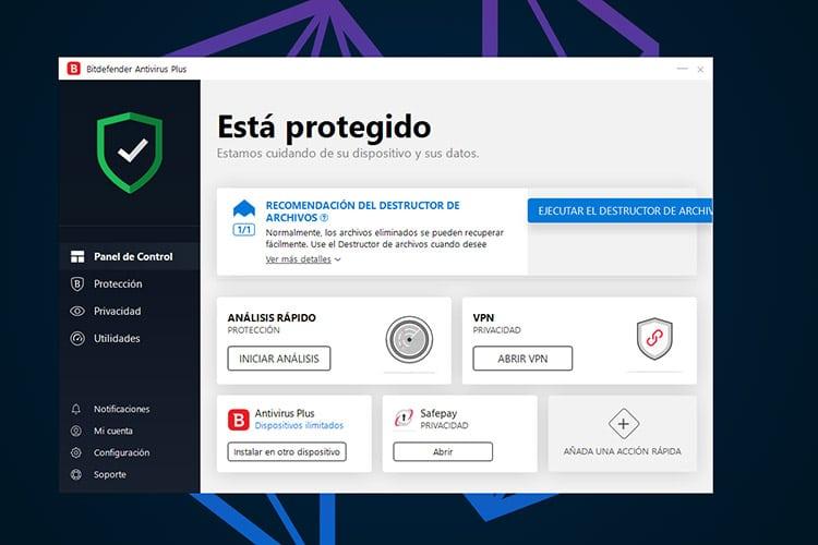 Mejores Antivirus de paga BitDefender