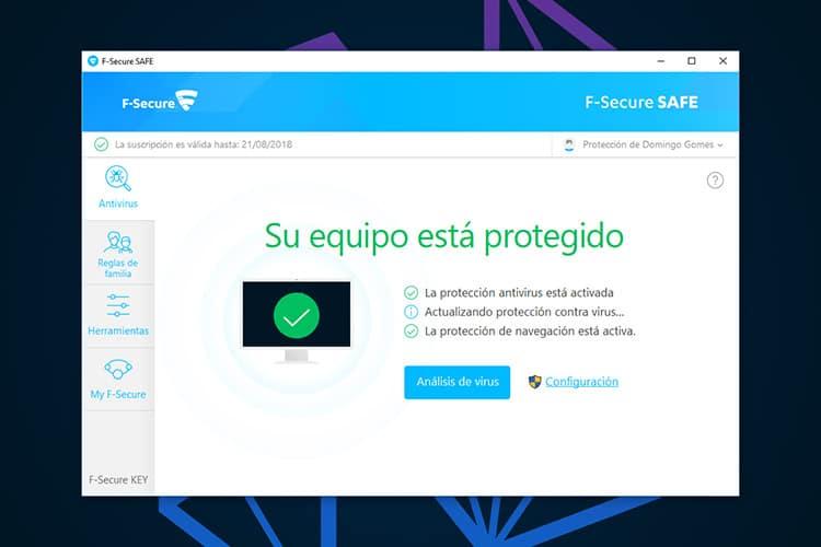 Mejores Antivirus de paga F-Secure