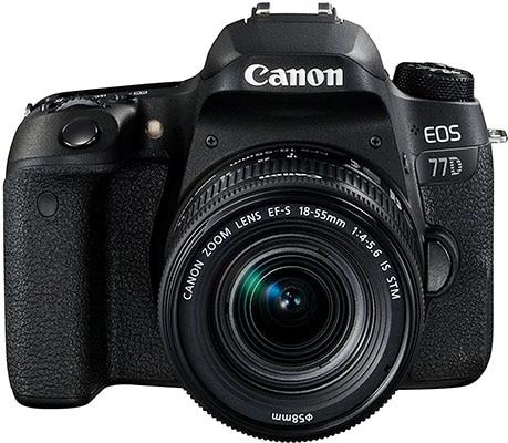 Mejores cámaras reflex Canon EOS 77D