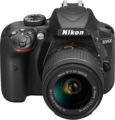 Mejores cámaras reflex Nikon D3400