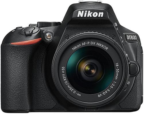 Mejores cámaras reflex Nikon D5600