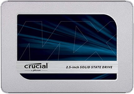 Mejores discos SSD - Crucial MX 500