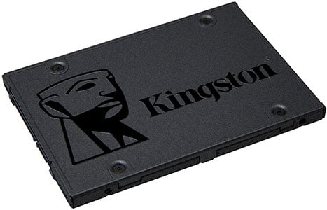 Mejores discos SSD - Kingston A400