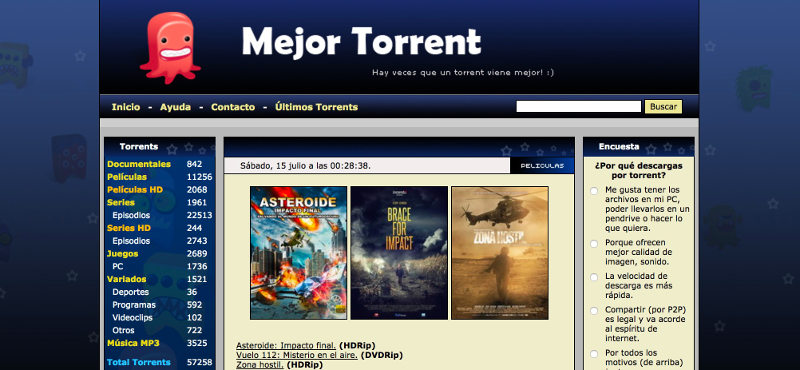 paginas torrent