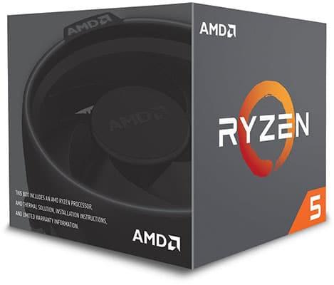 Mejores procesadores AMD Ryzen 5 2600
