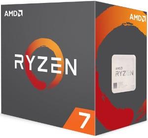 Mejores procesadores AMD Ryzen 7 1800X