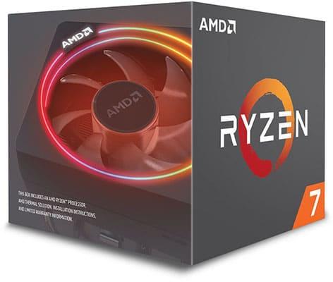 Mejores procesadores AMD Ryzen 7 2700x