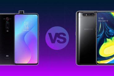 Mi 9T vs Galaxy A80