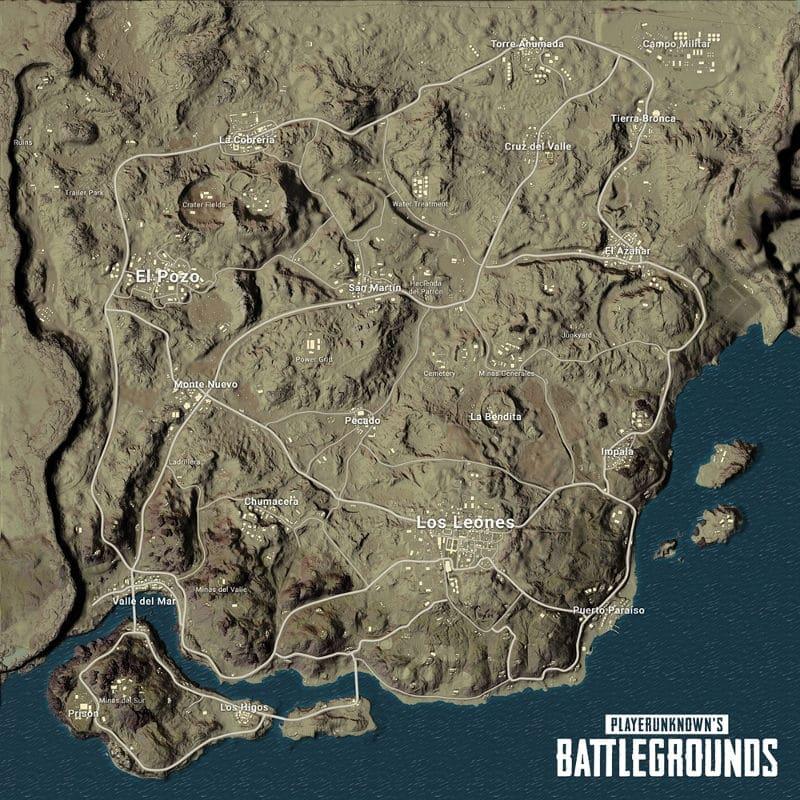 Miramar PUBG nuevo mapa