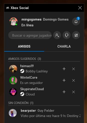 Modo Juego Windows 10 Amigos 1