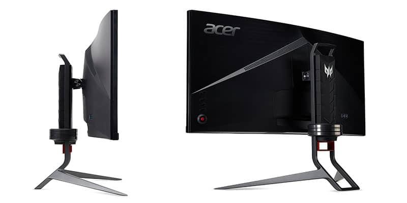 Monitor 4K para Gaming Acer Predator X34P diseño