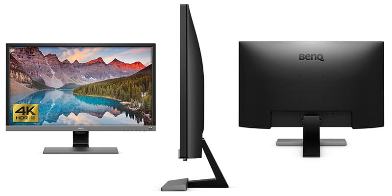 Monitor 4K para Gaming BenQ EL2870U diseño