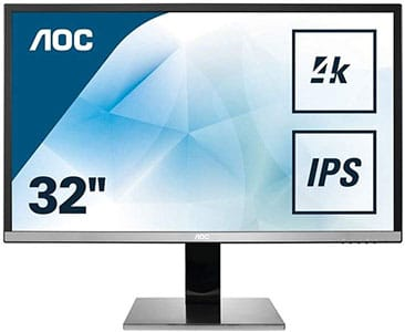 Monitores 4K para diseño AOC U3277PWQU